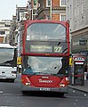 Transdev bus on route 27 in Kensington High Street.jpg