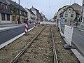 Travaux tram Strasbourg-Koenigshoffen (2019), interstation Comtes - Porte des romains 02.jpg