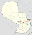 Trayecto Ruta 10 Paraguay.PNG
