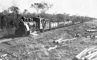 Chaco War - The 146km-long railway from the Paraguay river to the heart of the Chaco was vital for the Paraguayan army, especially during the battle of Boquerón