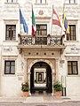 Trento-entrance of Palazzo Thun.jpg