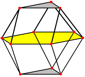 Triangular orthobicupola - Image: Triangular orthobicupola wireframe