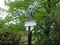 Trowse Village Sign - springtime - geograph.org.uk - 1290263.jpg