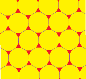 Truncated hexagonal tiling - Image: Truncated hexagonal tiling 0