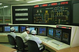 HTR-10 - Control room of HTR-10 reactor