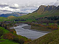 Tukituki River and Te Mata Peak, Hawkes Bay, New Zealand, 12 May 2006 (145007872).jpg