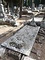 Tumba de Rafael Delorme, cementerio civil de Madrid.jpg