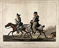 Two men dressed in dilapidated Napoleonic (?) military unifo Wellcome V0023260.jpg