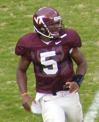 Tyrod Taylor - Taylor with the Hokies in 2008