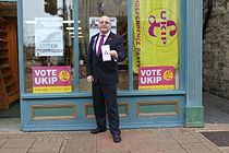 UKIP campaigning in Newport High Street 2.jpg