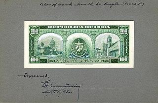 Silver certificate (Cuba) Cuban banknote