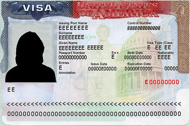US Visa By Zboralski [Public domain], via Wikimedia Commons