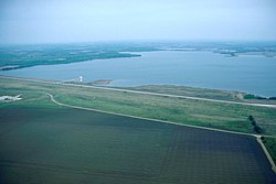 Aquilla Lake is located a few miles north of Aquilla.