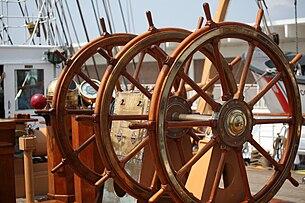 USCGC Eagle helm