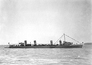 USS Hull (DD-7) - Image: USS Hull DD7
