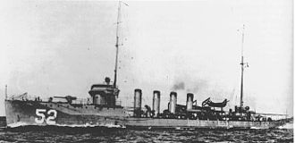 O'Brien-class destroyer - Image: USS Nicholson DD52