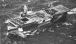USS <i>Copahee</i> Bogue-class escort carrier of the US Navy
