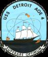 USS Detroit (AOE-4) crest 1970.png