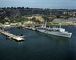 USS Dixon (AS-37) at San Diego in 1990.JPEG