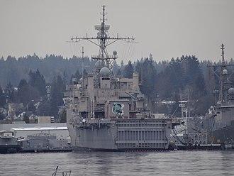 USS Dubuque (LPD-8) - Ex-USS Dubuque (LPD-8) awaits her fate at Puget Sound Naval Shipyard 2017