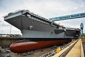 USS Gerald R. Ford under construction, 20130916.jpg