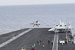 USS Harry S. Truman conducts flight operations. (27441553125).jpg