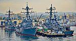 USS Higgins (DDG-76) - USS Wayne E. Meyer (DDG-108) - USS Howard (DDG-83) (25008641013).jpg