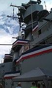 USS Iowa (BB-61) superstructure