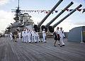 USS Missouri Memorial Veterans Day Sunset Ceremony 141111-N-IU636-006.jpg
