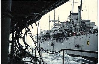 USS Mountrail - Image: USS Mountrail (APA 213)