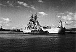 USS Newport News (CA-148) docks at Naval Station Roosevelt Roads in 1966.jpg