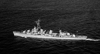 USS Picking - USS Picking (DD-685) underway on 24 October 1951