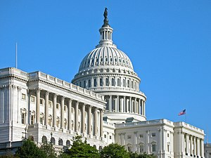 Washington D.C.: US Capitol from NW