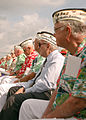 US Navy 041207-N-6214F-005 Survivors of the attack on Pearl Harbor, Hawaii, sit and listen during the 63rd anniversary of the attack on Pearl Harbor Remembrance Ceremony held in Port Everglades, Florida.jpg