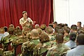 US Navy 050310-N-0962S-111 Master Chief Petty Officer of the Navy (MCPON) Terry Scott speaks to Sailors during an All Hands call in Guantanamo Bay, Cuba.jpg