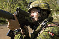 US Navy 080726-N-7949W-054 A Canadian soldier assigned to 1st Battalion of Princess Patricia's Canadian Light Infantry aims his rifle in the direction of enemy fire.jpg