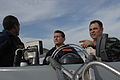 US Navy 080902-N-7544A-070 Chief Boatswain's Mate Daniel Chavez and two Colombian Coast Guard members drive a rigid inflatable boat.jpg