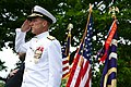 US Navy 090525-N-3271W-187 Vice Adm. Dirk J. Debbink, Chief of the Navy Reserve, takes part in the Janesville Memorial Day Celebration.jpg