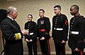 US Navy 100306-N-8273J-073 Chief of Naval Operations (CNO) Adm. Gary Roughead speaks with cadets at Valley Forge Military Academy and College about opportunities in the Navy and other military services.jpg