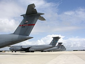 Naval Station Rota, Spain - Eight C-5 Galaxy at Rota