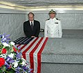 US Navy 100709-N-1357M-148 Sailors visit the tomb of a former President.jpg