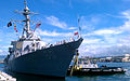 US Navy 110629-N-VM928-003 USS Paul Hamilton (DDG 60) returns to Joint Base Pearl Harbor-Hickam after a seven-month deployment.jpg
