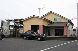 Uchihara Station Railway station in Mito, Ibaraki Prefecture, Japan