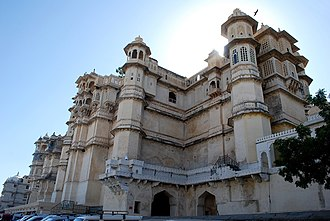 City Palace, Udaipur - Close-up of the Palace
