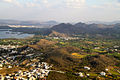 Udaipur city and suburban area Rajasthan India 2015.jpg