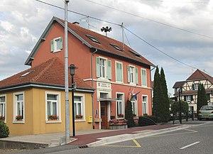 Ueberstrass - Image: Ueberstrass, Mairie