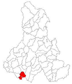 Location of Ulieş