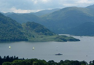 Ullswater - Ullswater looking towards Silver Point.