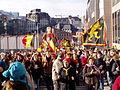 United Belgium Brussels demonstration 20071118 DMisson 00075 rue de la Verveine.jpg