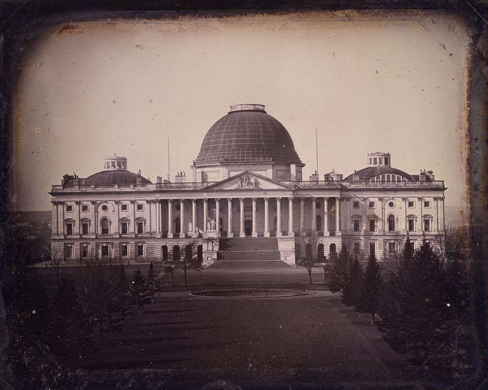File United States Capitol Circa 1846 By John Plumbe Jpg